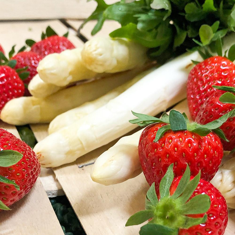 Erdbeerspargel