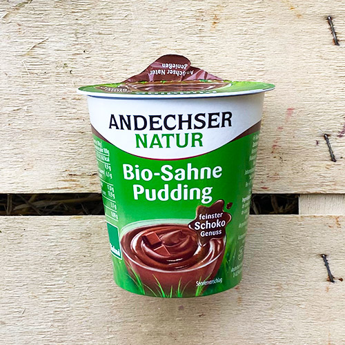 Bio Sahne Pudding Schoko