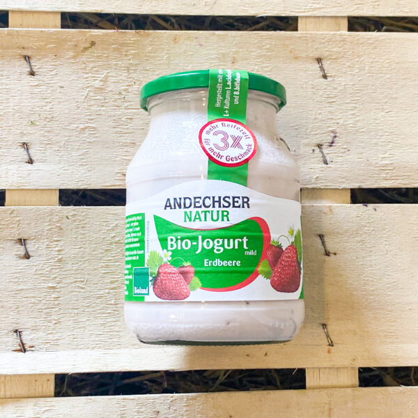 Bio jogurt erdbeere