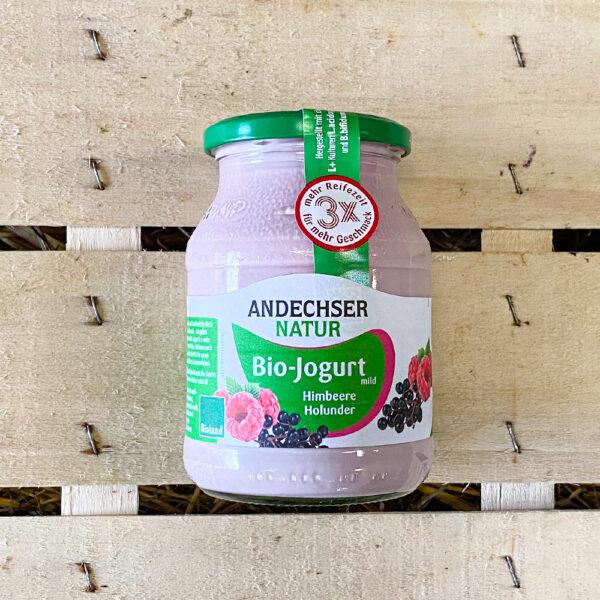Bio Jogurt Himbeere Holunder