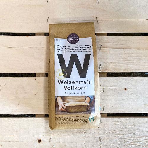 Weizenmehl-Vollkorn